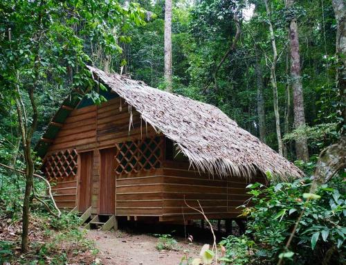 Il campo base prima di raggiungere le cascate Konguo