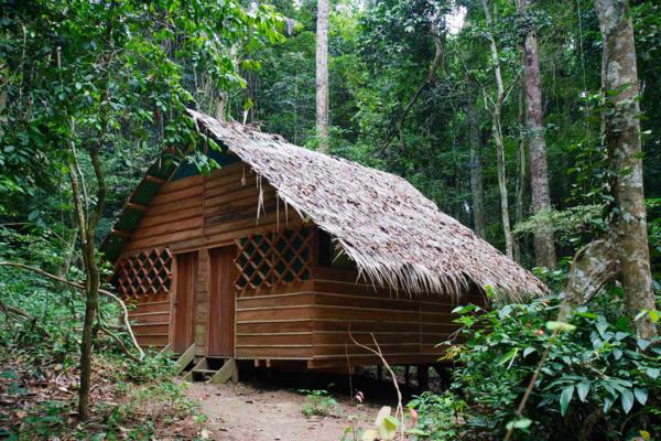 Il campo base verso le cascate Kongou