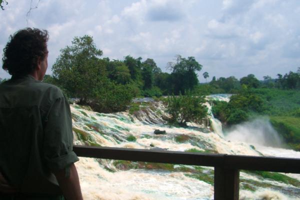 Vista del fiume Ivindo