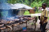 Dettagli di cucina nel villaggio Loaloa