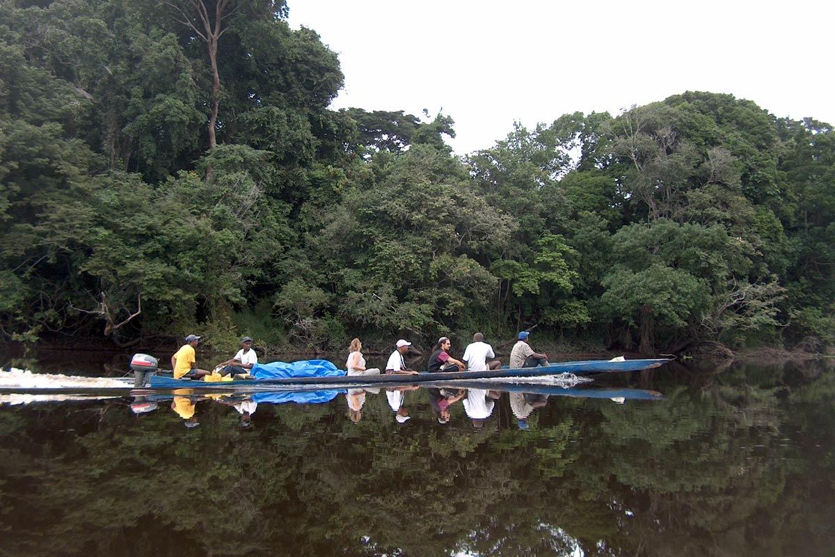 Esplorazione sul fiume