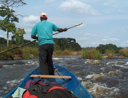 Navigando sul fiume