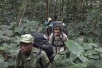 Video Viaggio attraverso le foreste nel parco dell'Ivindo per raggiungere Momba